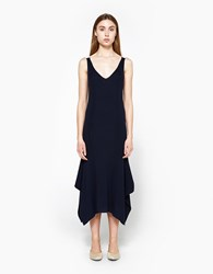 Alexander Wang Merino Rib Tank Dress Navy