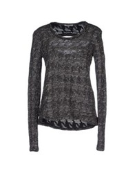 By Zoe Sweaters Black