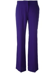 N 21 No21 Bootcut Tailored Trousers Pink Purple
