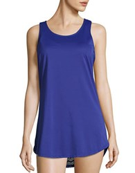 Prana Racerback Cover Up Tunic Blue