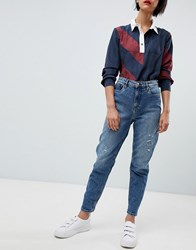 Tommy Hilfiger Icon Ankle Grazer Jean Blue