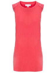 Surface To Air Spray Pink Cotton Slice Tank