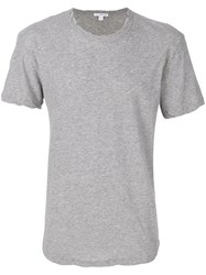 James Perse Loose Fit T Shirt Cotton Iv Grey