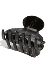 France Luxe 'Small Couture' Jaw Clip Black Nacro Black