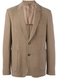 Dondup Double Buttons Blazer Nude And Neutrals
