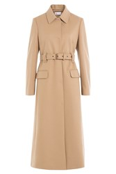 Red Valentino Wool Trench Coat Beige