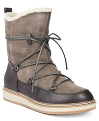 White Mountain Topaz Cold Weather Boots Women's Shoes Dark Charcoal