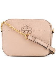 Tory Burch Mcgraw Camera Bag Pink And Purple