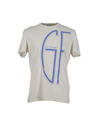 Gianfranco Ferre Gf Ferre' Short Sleeve T Shirts Ivory