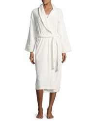 Nuit Rouge Cable Bath Robes Cream