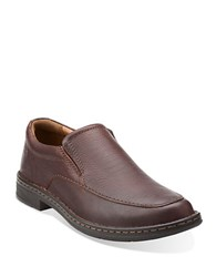 Clarks Kyros Free Loafers Brown Tumble