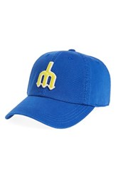 American Needle Men's New Timer Mlb Snapback Baseball Cap Blue Mariners