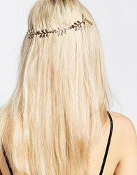 Monki Leaf Hairpiece Gold Leaf