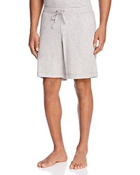 Daniel Buchler Peruvian Pima Cotton Lounge Shorts Gray Heather