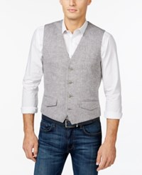 Tasso Elba Island Vest Only At Macy's Grey