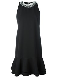 Blugirl Embellished Collar Dress Black