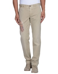 Incotex Red Casual Pants Sand
