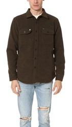 Obey The Jack Woven Jacket Army Heather