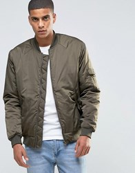 Weekday Troopers Bomber Jacket 19 113 Green