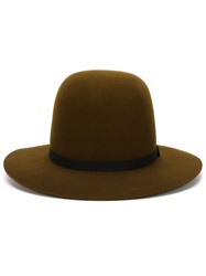 Humanoid Wide Brim Hat Brown