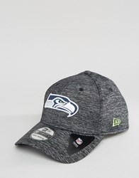 New Era 39Thirty Fitted Cap Seattle Seahawks Grey