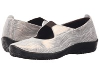 Arcopedico Leina White Flare Women's Shoes Gray