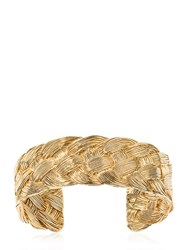 Aurelie Bidermann Braided Cuff Bracelet