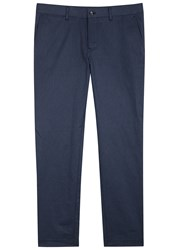 J. Lindeberg Chaze Blue Twill Trousers