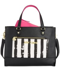 Betsey Johnson Bag In A Bag Tote Black