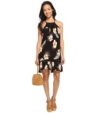 Volcom Not Over It Dress Black Women's Dress