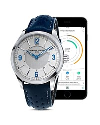 Frederique Constant Horological Smart Watch 42Mm Silver Blue