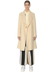 Sportmax One Button Wool Coat