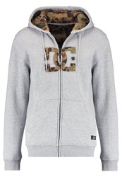 Dc Shoes Hook Up Tracksuit Top Grey Heather