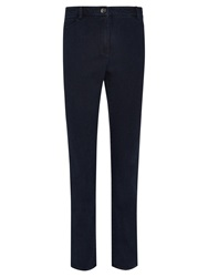 Viyella Tencel Straight Regular Length Jeans Indigo
