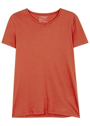 J. Lindeberg Cody Red Cotton T Shirt