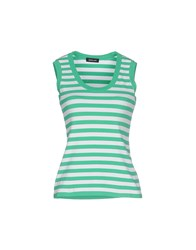 Anne Claire Anneclaire Topwear Vests Women Green