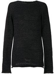 Lost And Found Ria Dunn Classic Fitted Sweater Black