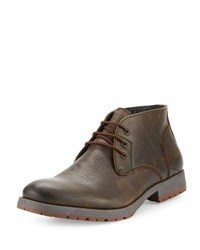 Robert Wayne Roma Leather Lace Up Boot Brown