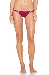 Cami And Jax Cami Jax Anuhea Bikini Bottom Burgundy