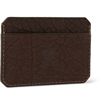 Parabellum Full Grain Leather Cardholder Brown