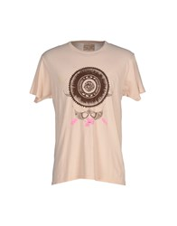Just Another Rich Kid Topwear T Shirts Men Light Pink