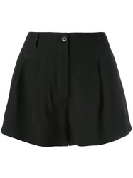 Moschino High Waisted Shorts Black