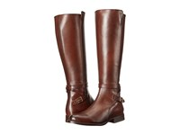 Frye Jordan Strap Tall Whiskey Smooth Veg Calf Women's Dress Pull On Boots Brown