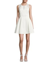 Guess Solid Sleeveless Dress White