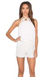 Ramy Brook Jilly Romper White