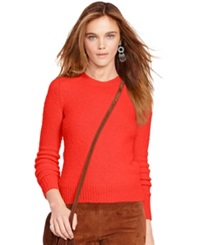 Polo Ralph Lauren Crew Neck Sweater Coral