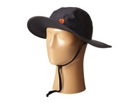 Mountain Hardwear Plasmic Evap Wide Brim Hat Shark State Orange Safari Hats Black