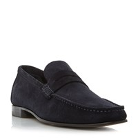 Tommy Hilfiger Russel 2B Classic Penny Loafer Navy