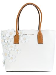 Marc Jacobs Daisy Tote Women Leather Pvc One Size White