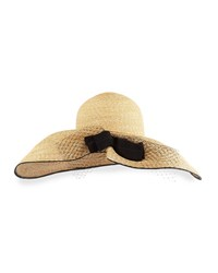 Inverni Iris Straw Hat W Netting Natural Size S 56